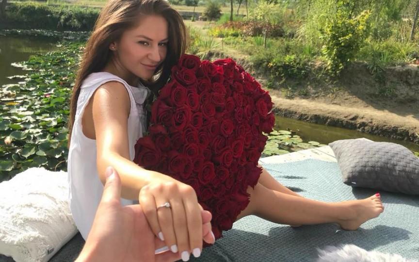 (FOTO) Interpreta Tatiana Spînu și soțul său au organizat o nuntă de poveste