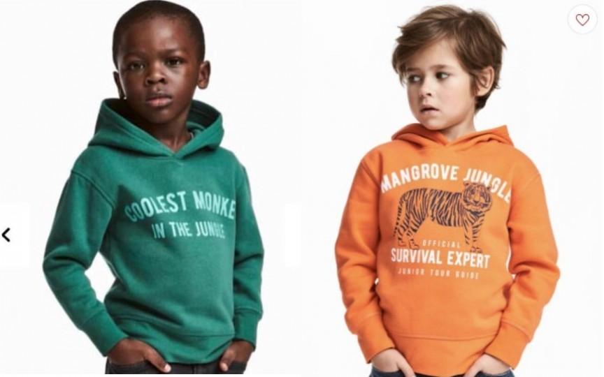 Scandal în jurul unui hanorac pentru copii de marcă H&M. Brandul este acuzat de rasism!