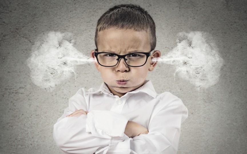 7 reguli pentru a stăpâni un copil furios