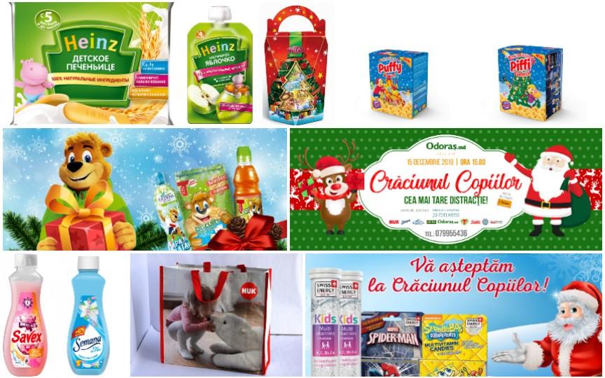 Vezi ce cadouri va primi fiecare odoraș la Crăciunul Copiilor 2018