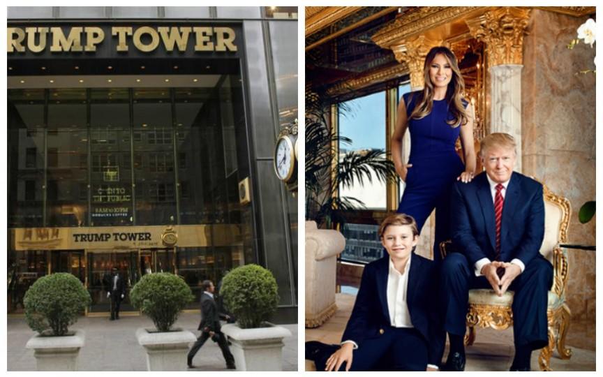 Fotografii de senzație. Casa de lux a lui Donald Trump