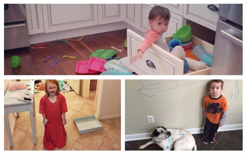 (Foto) Iată ce se poate întâmpla când îți lași piciul pentru 30 de secunde singur