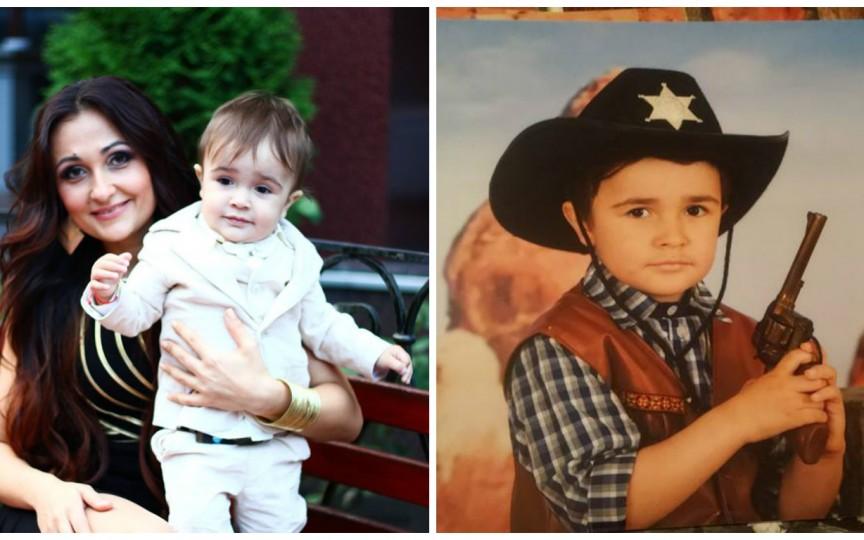 Fiul interpretei Cezara a împlinit 4 ani. Vezi ce mare a crescut