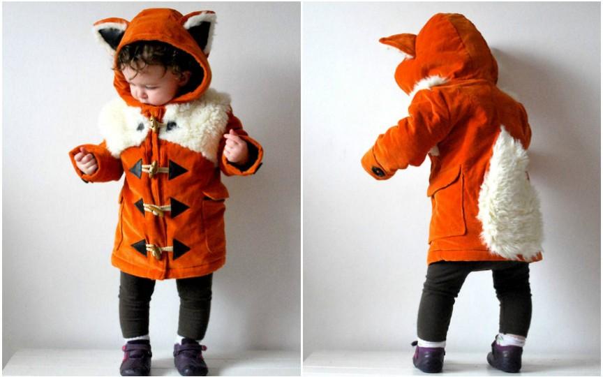 Paltonașe haioase și mai puțin obișnuite pentru copii. INSPIRĂ-TE!