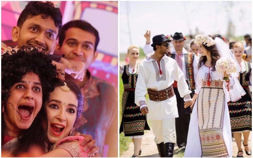 Impresionant: Cum au sărbătorit un cuplu moldo-indian două nunți cu tradiții