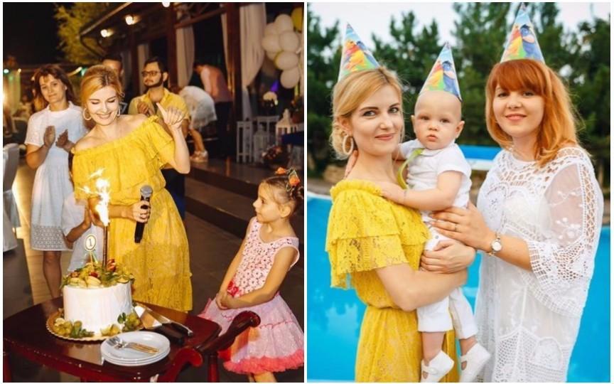 (FOTO) Cum a fost la ziua de naștere a fiului Marianei Mihăilă