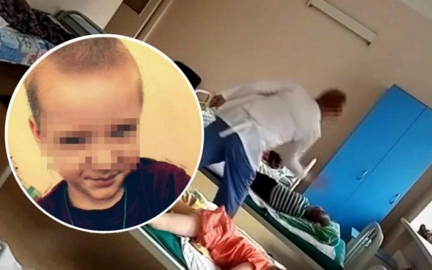 (VIDEO) Dezvăluirile continuă: O altă asistentă medicală lovește fără milă copiii internați într-un spital de tuberculoză