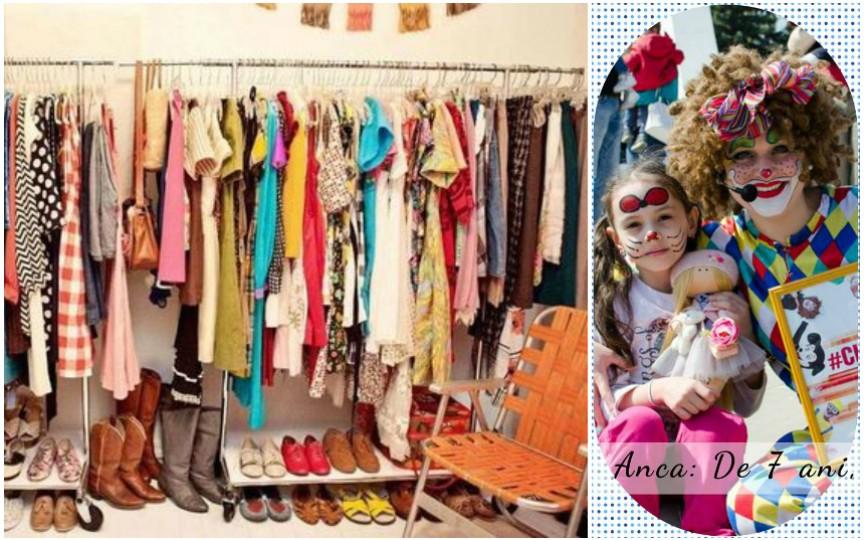 Târg de caritate: Donează sau cumpără hăinuţe pentru a oferi unei fetiţe şansa să meargă!