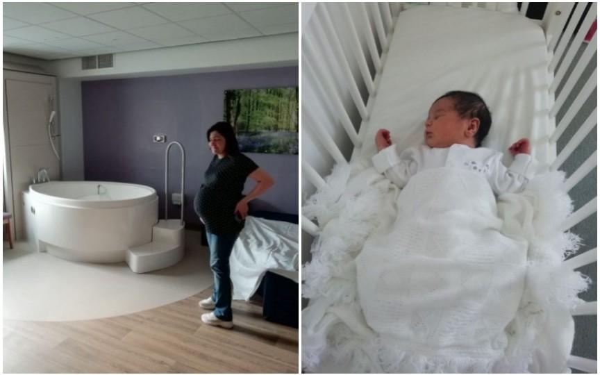 Naștere în Regatul Unit în timpul pandemiei: Camera mea era ca un centru spa, iar soțul putea să intre, dar nu mai avea voie să iasă până la externare