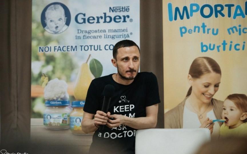 Mihai Stratulat anunță un nou eveniment gratuit pentru părinți. Află unde și când va avea loc!