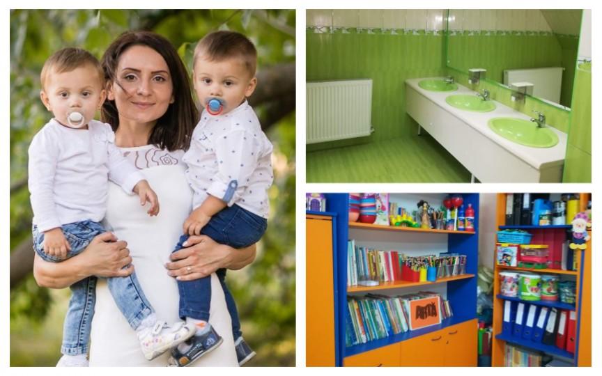 O mamă moldoveancă povestește despre condițiile la grădinița din România la care și-a dat gemenii