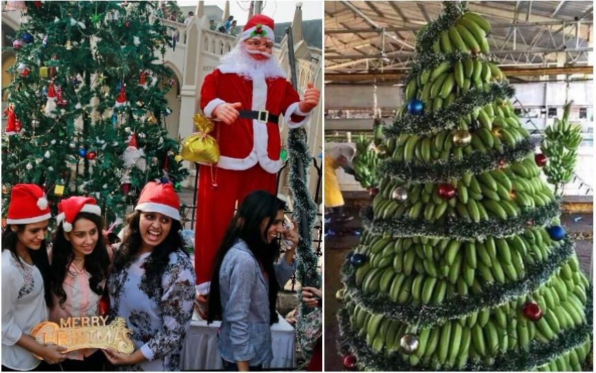 Ştiai că în India de Crăciun se împodobesc bananierii şi pomii de mango? Vezi tradițiile și altor țări!