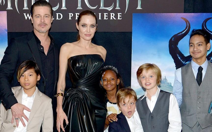 Cu cine rămân copiii dacă Angelina Jolie şi Brad Pitt divorţează?