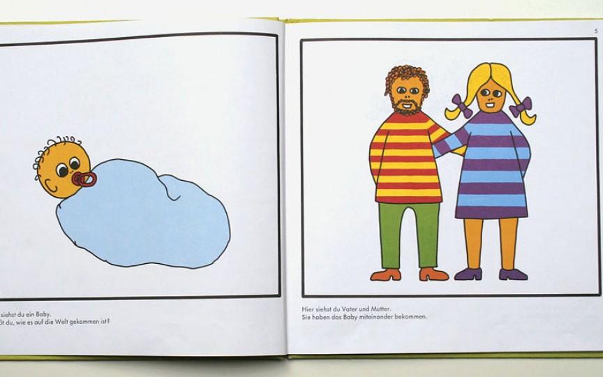 Cum se face un copil -  carte ilustrată pentru copii