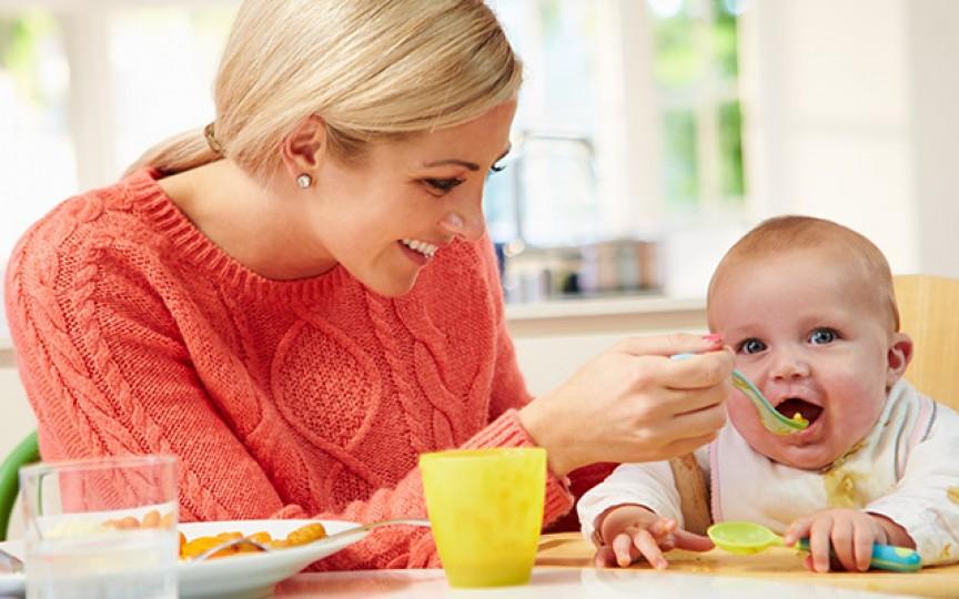 Diversificarea.  5 rețete pentru bebelușii de 4-6 luni