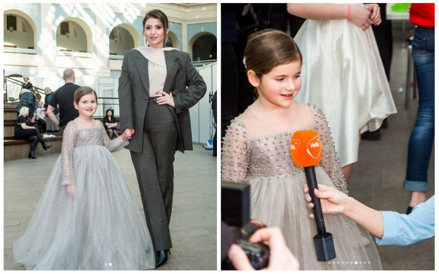 Defilarea de modă a copiilor de vedete din Rusia, la care a participat și fiica politicianului moldovean Ilan Șor