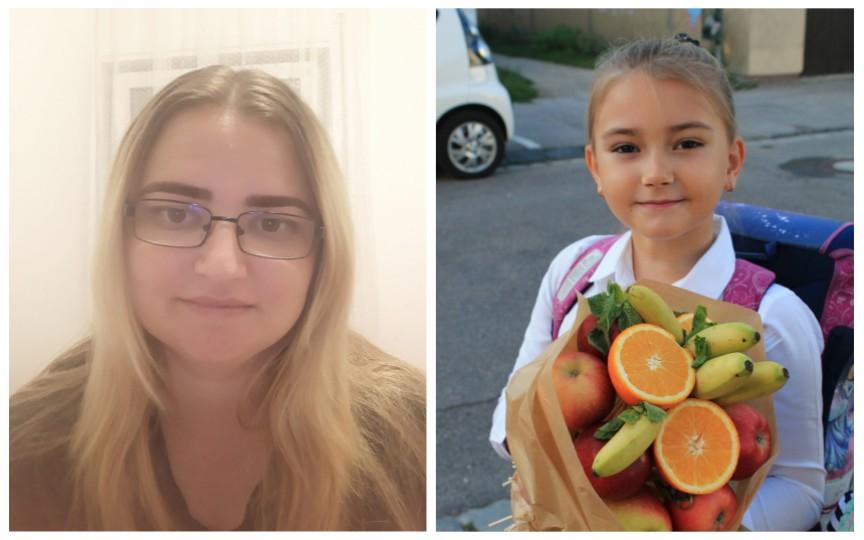 """Prima zi de școală în Germania povestită de o mamă moldoveancă: """"Din 100 de copii și părinți, doar noi și o fetiță din România am venit cu flori și fructe"""""""