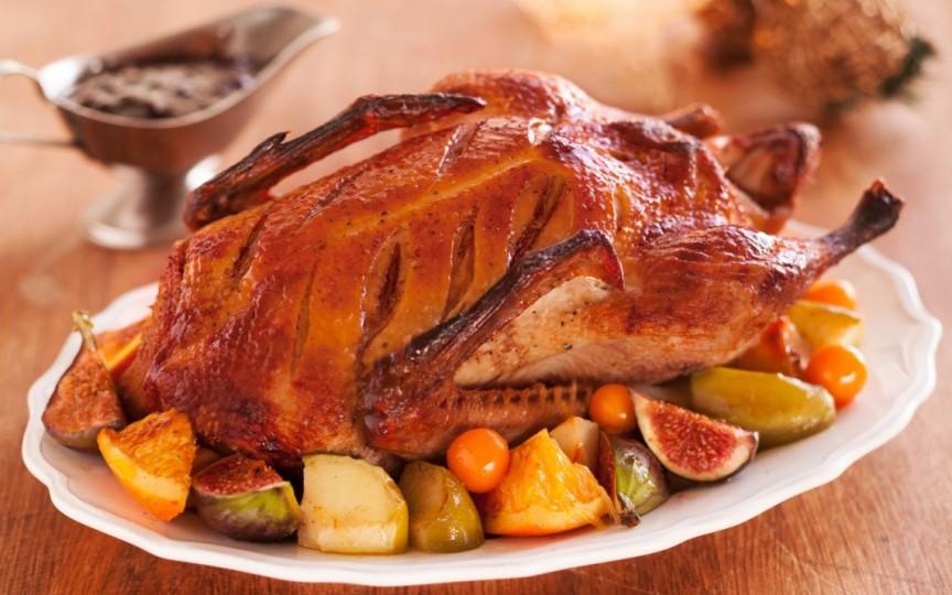 Carnea de gâscă e bogată în fier, zinc și vitamina B12