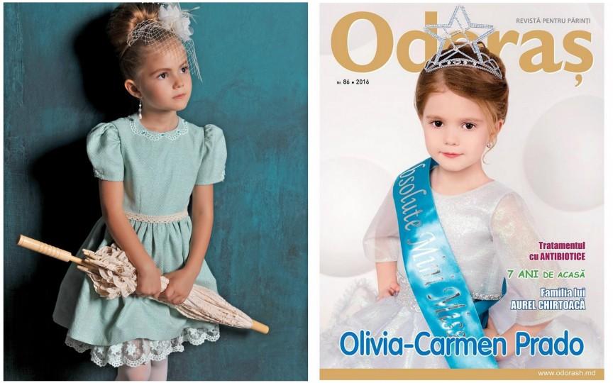 Olivia-Carmen Prado: Am adus de la Praga coroniţa de Mini Miss