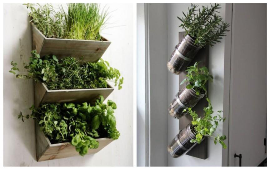(FOTO) Idei inedite cum îți poți face grădină la balcon