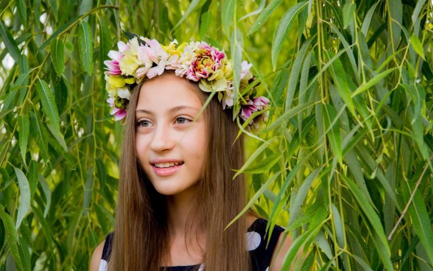 Andreea Țiganovschi în aventura copilăriei