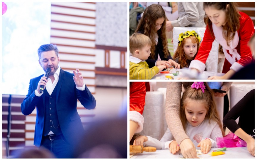 (FOTO) Crăciunul copiilor – un eveniment pentru o viață!