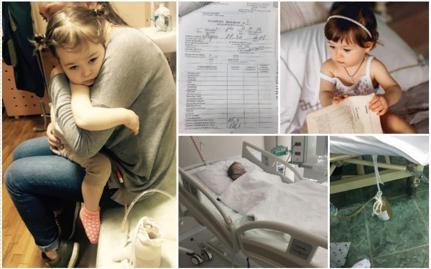 Save Alexandra – cazul care a costat 30 mii de euro, din cauza medicilor incompetenţi