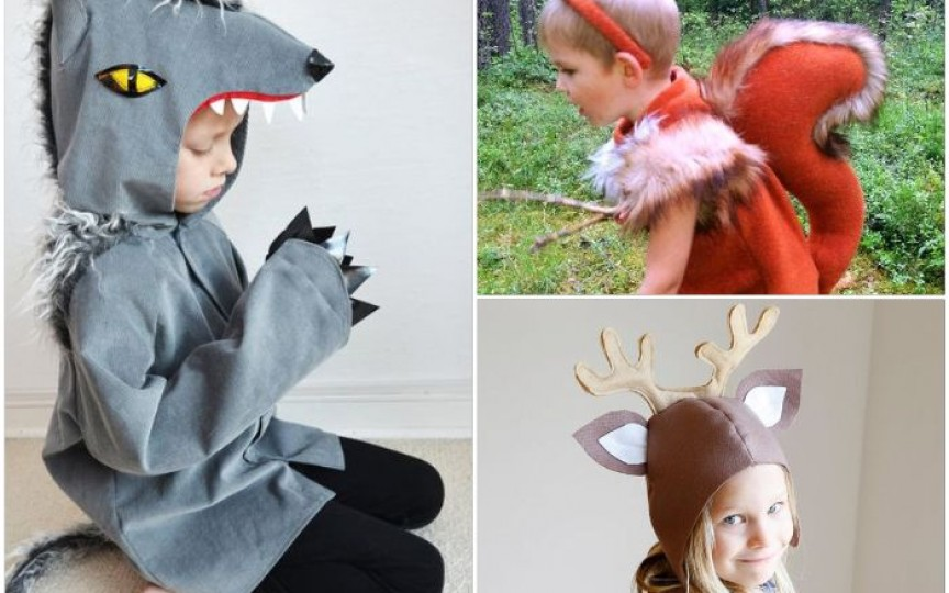 Costume de carnaval pentru copii, ce pot fi realizate foarte simplu