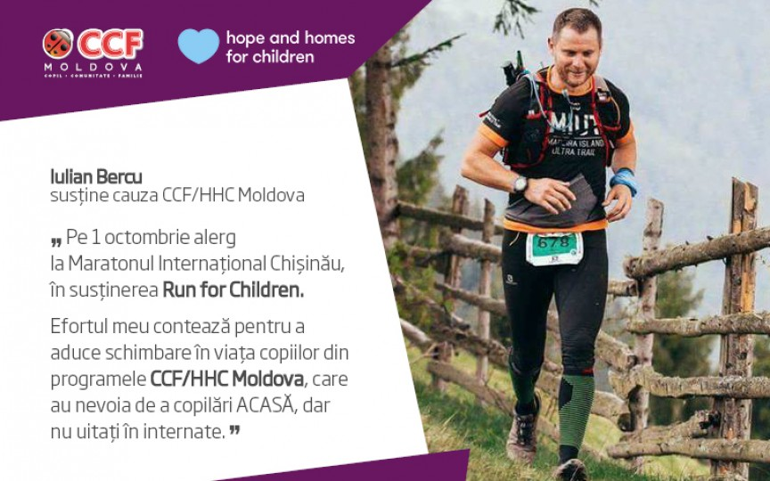 Iulian Bercu: Alergătorilor le recomand să participe la competițiile din Moldova, așa sportul va evolua