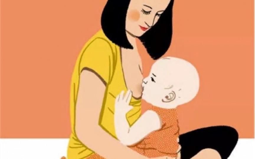 Alăptarea în poziție verticală – soluție pentru mamele cu mastită și pentru bebelușii cu reflux
