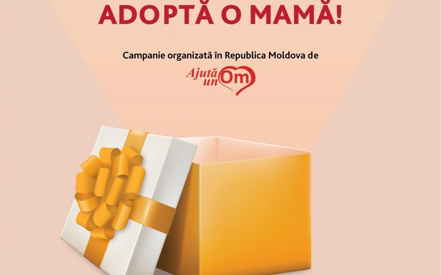 """A fost lansată o campanie emoționantă """"Adoptă o mamă"""""""