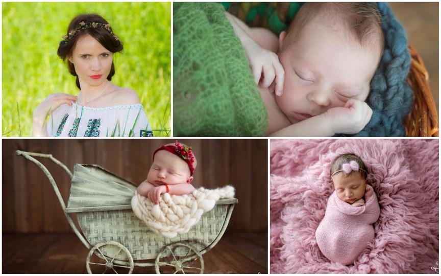 Olga Scorpan: Ședințele foto newborn nu pot fi lăsate pentru altă dată, deci nu le ratați!