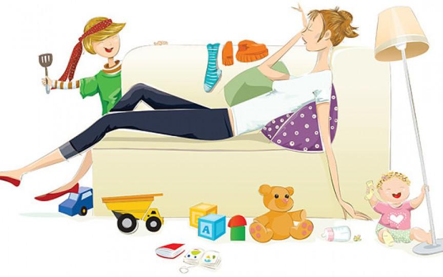 """""""Munca"""" de mamă este echivalentă cu 3 servicii cu norma întreagă"""