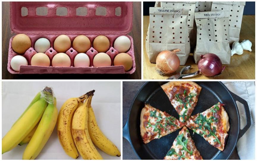 12 sfaturi utile despre cum să păstrezi corect alimentele