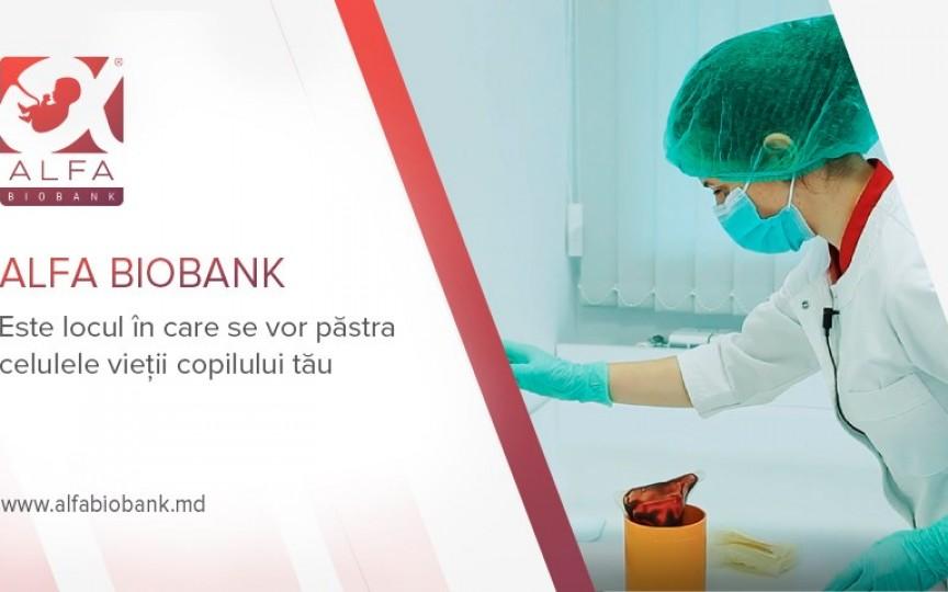 Prima bancă de celule Stem din Moldova ALFA BIOBANK face primul an de activitate