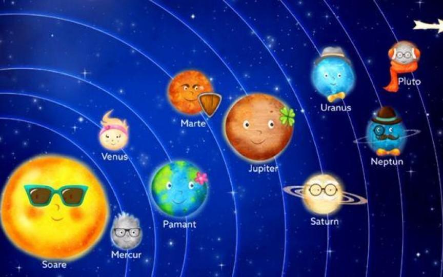 Povestea Sistemului Solar, pe înțelesul copiilor
