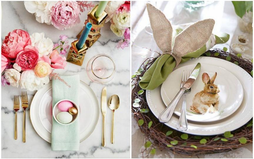 15 idei creative pentru decorarea mesei de Paști