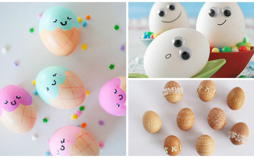 Metode creative de decorare a ouălor împreună cu copiii