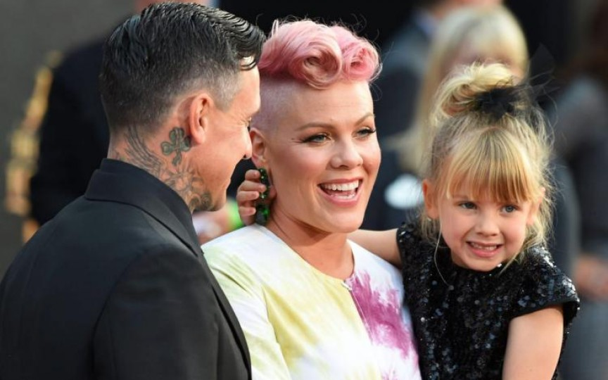 Cântăreața Pink este însărcinată din nou. Poze emoționate!