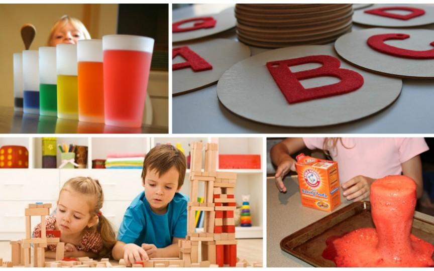 Jocuri Montessori pe care le poți face în condiții casnice