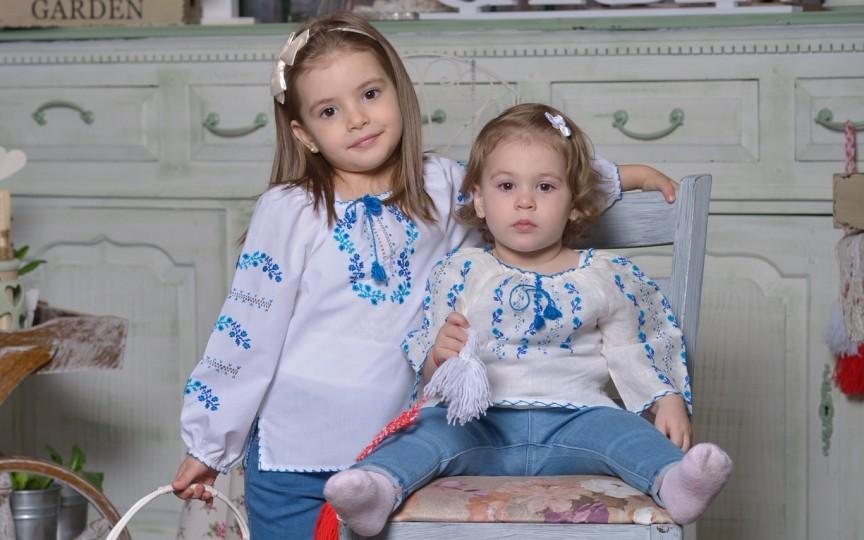 Sofia şi Sanda comoara familiei Coşleţ