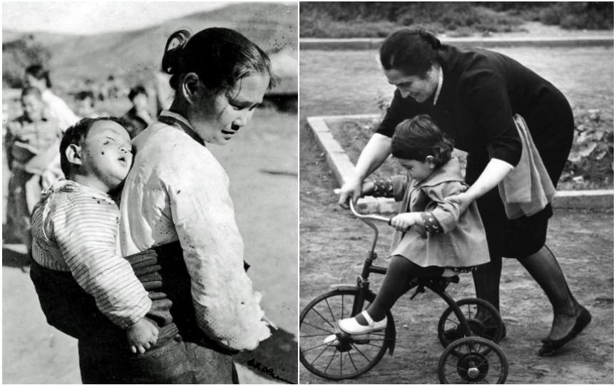 Emoționant: cum arătau mamele din diferite țări cu sute de ani în urmă