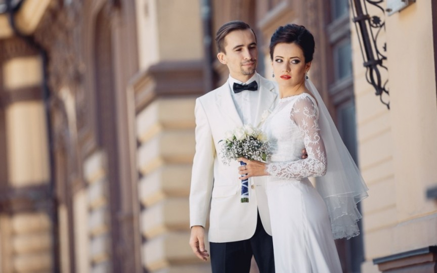 Elena Băncilă s-a cununat religios