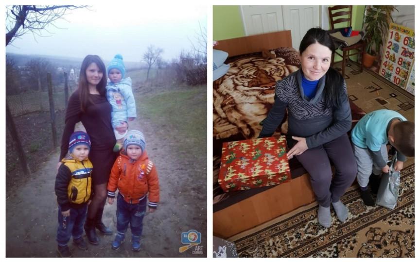 O familie cu 3 copii, în așteptarea celui de-al 4-lea, are mare nevoie de haine și produse alimentare