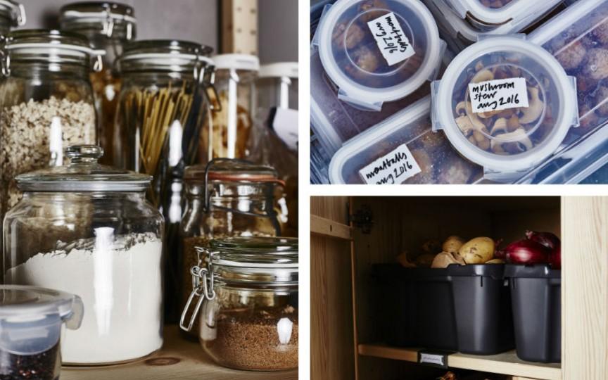 4 idei utile cum păstrezi alimentele proaspete și la îndemână