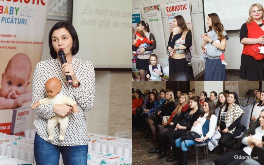 La ultimul Festival al Graviduțelor s-a discutat despre epidurală și îngrijirea copilului în primele luni de viață