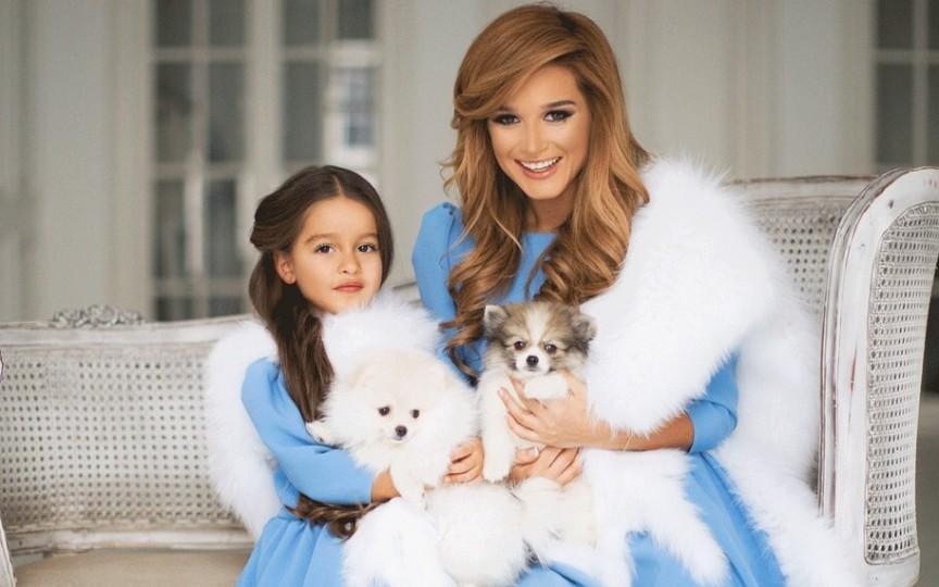 Ksenia Borodina a devenit mamă pentru a doua oară