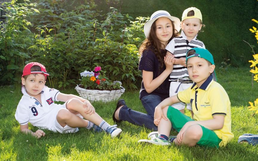 Fericită este familia care îşi umple casa cu copii