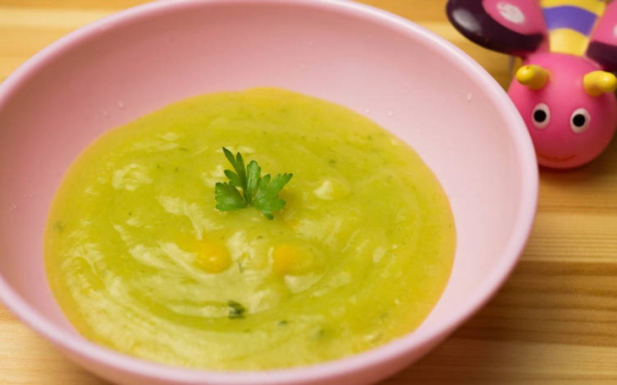 Supă cremă de legume pentru bebeluși – cea mai ușor de gătit