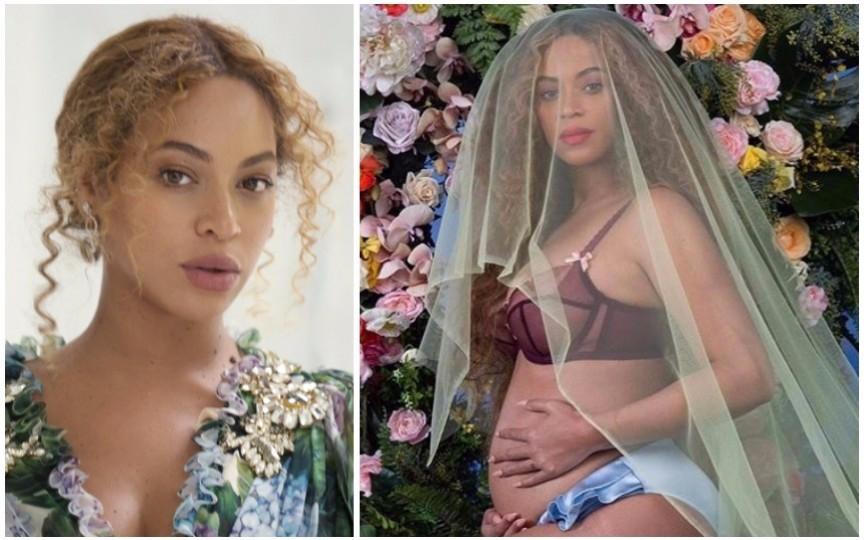 Beyoncé a făcut publică prima imagine cu gemenii săi